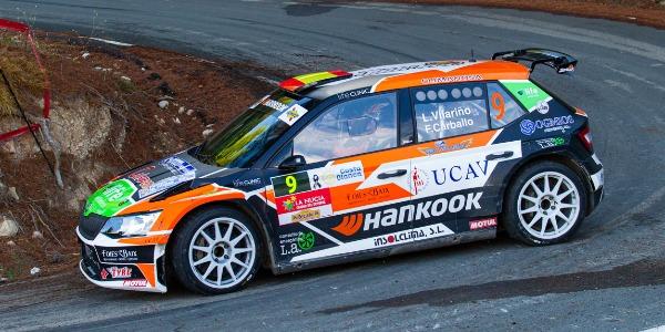 Luis Vilariño firma un gran Rallye La Nucía 2020