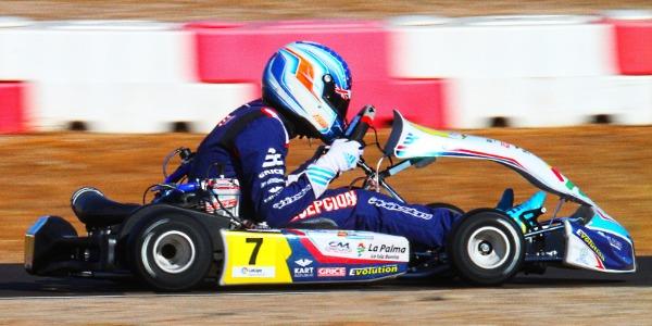 Santi Concepción Jr se juega el podio en el Nacional de Karting