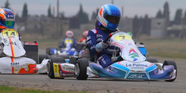 Santi Concepción Jr finalizó su incursión en el CEK 2020 con victoria