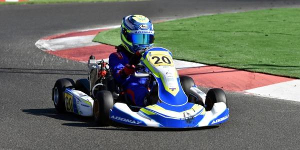 Primer título para Adonay Crespo en el Gran Karting Club