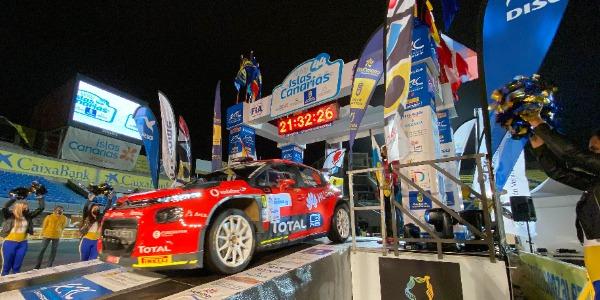 Arranca el 44 Rally Islas Canarias