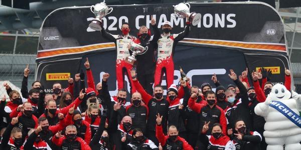 Campeones del Mundo WRC 2020