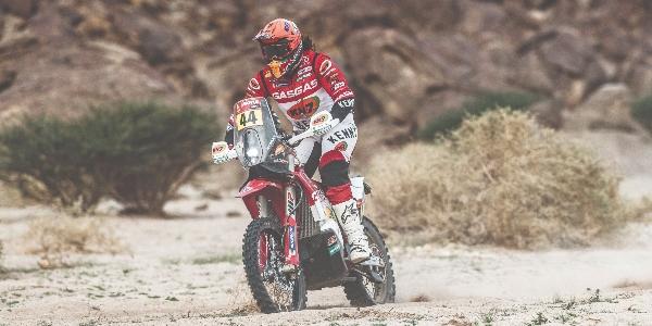 Laia Sanz se sitúa 18ª a un día para el final del Rally Dakar