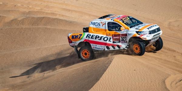 Isidre Esteve contento tras el Dakar por ser más competitivo