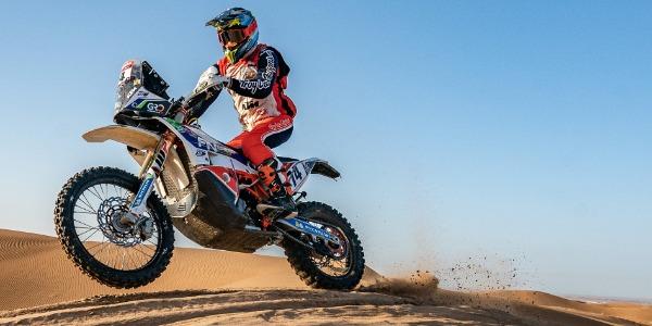 Jaume Betriu consigue su mejor resultado en el Rally Dakar