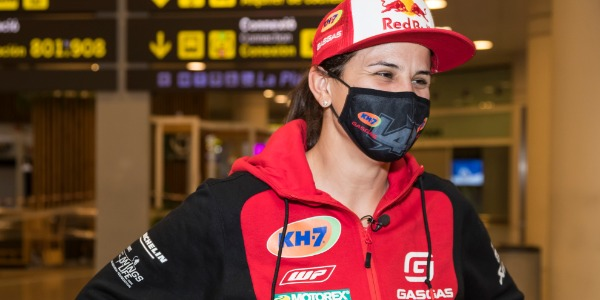 Laia Sanz valora su undécimo Rally Dakar tras llegar a casa