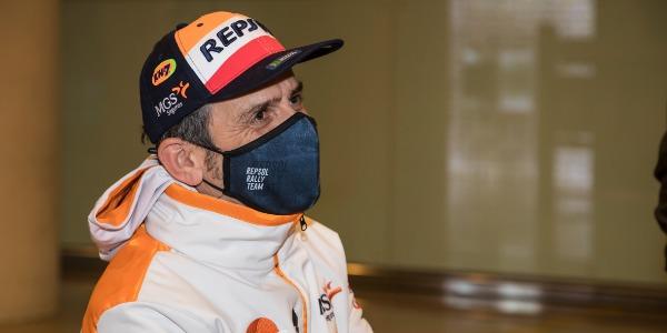 Isidre Esteve vuelve del Dakar muy satisfecho con su progresión