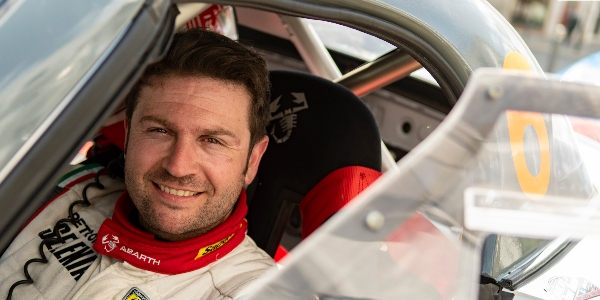 Alberto Monarri en la Peugeot Rallye Cup Ibérica 2021