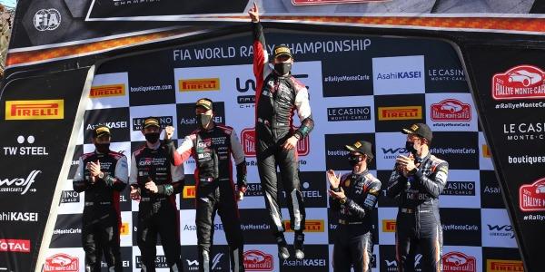 Sebastien Ogier gana el Rally de Montecarlo WRC 2021