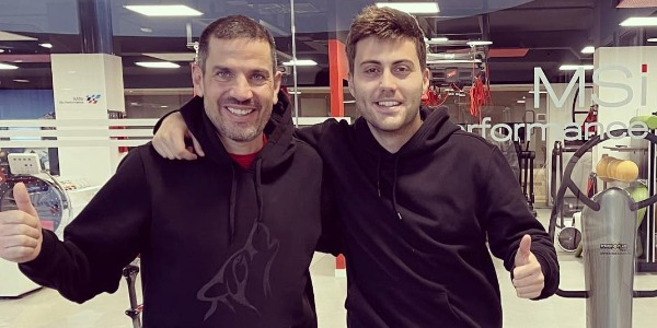 Diego Vallejo y Pepe López