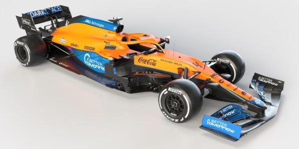McLaren presenta su alineación para 2021 y desvela el MCL35M