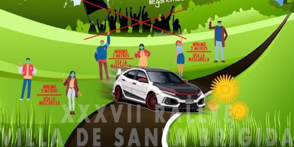 El XXXVII Rallye Villa de Santa Brígida completa sus inscritos