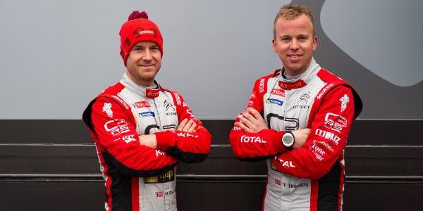 Mads Ostberg y Torstein Eriksen