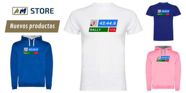 Camiseta Tiempos Rally
