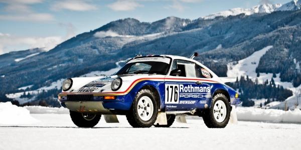 Fuego y hielo: Walter Röhrl conduce el Porsche 953