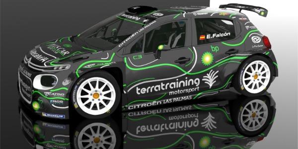 Diseño que estrenará el Citroën C3 R5