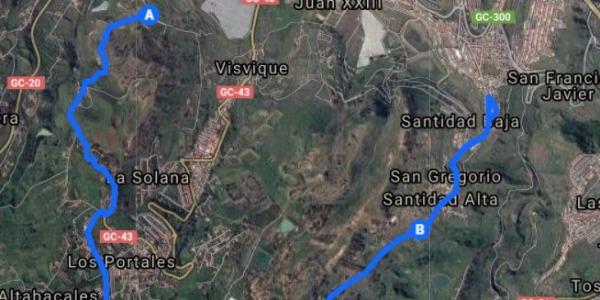Desvelado el tramo del I Rally Sprint Ciudad de Arucas