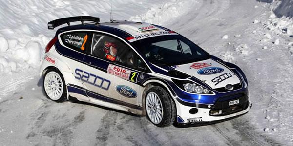 Mikko Hirvonen en el Rally de Montecarlo