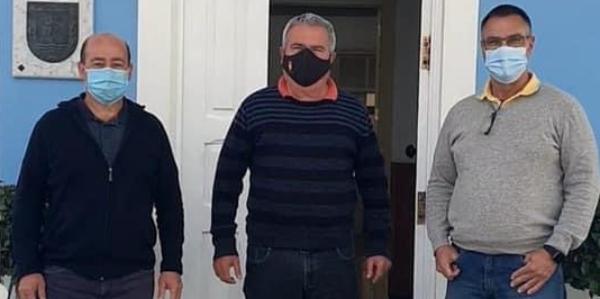 Julián Martín, Arturo González y Poli Delgado