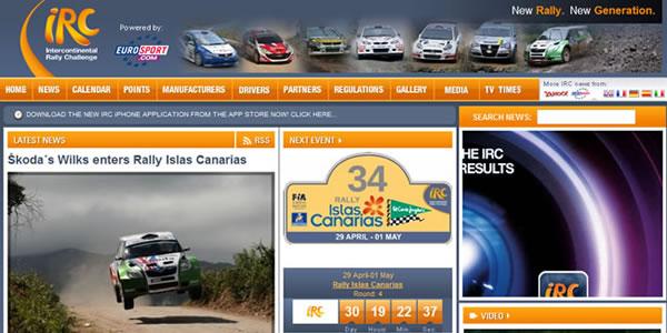 Web Oficial del IRC