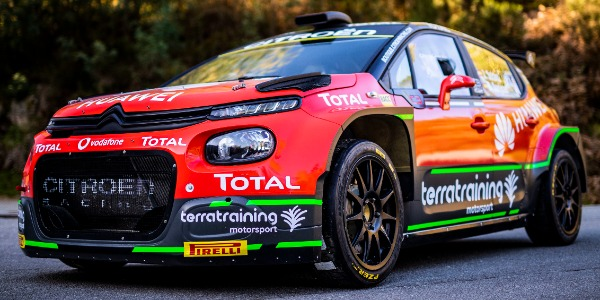 El Citroën Rally Team inicia temporada del S-CER