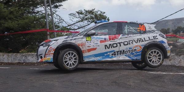 Sergio Fuentes competirá con su Rally4 en Teijna - Tegueste