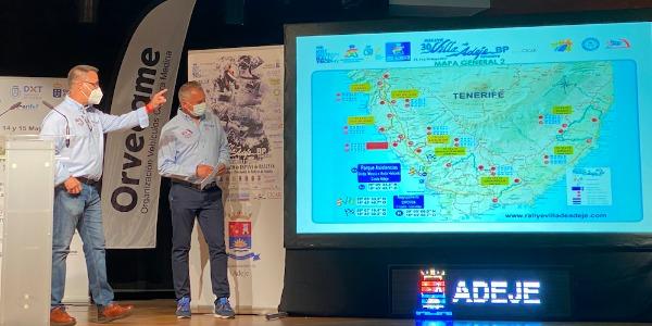 Presentación del Rallye Villa de Adeje 2021