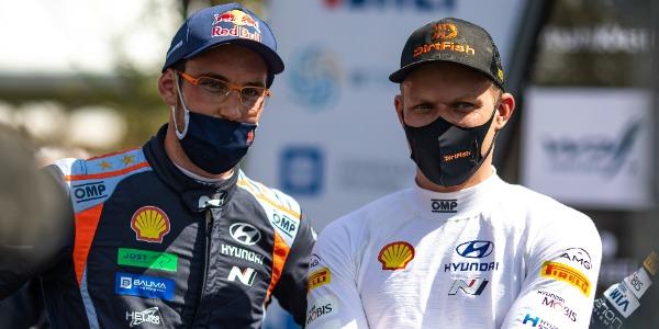 Hyundai Motorsport amplía contratos con Thierry Neuville y Ott Tänak