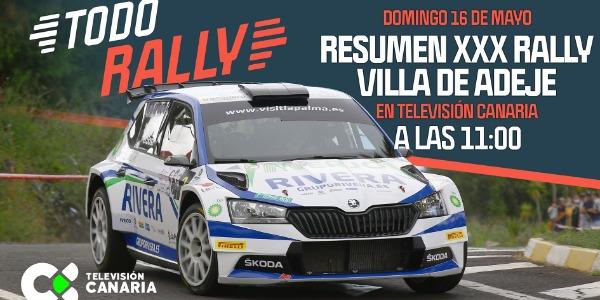 El Rallye Villa de Adeje en Televisión Canaria