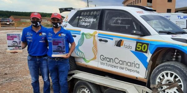 Quintana y Mujica, victoria en el Tramo de Tierra Pinseque
