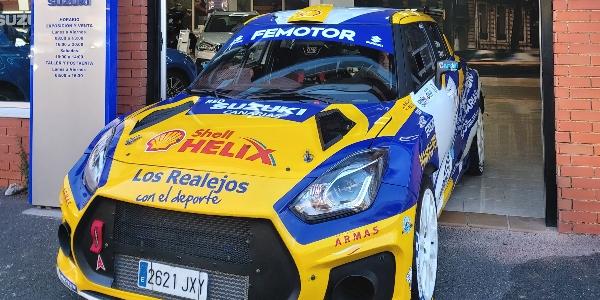 Mesa Competición RallyTeam