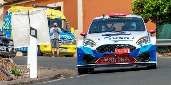 Victoria de Enrique Cruz en el Rallye Comarca Norte 2021