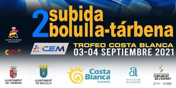 El CEM llega a Alicante con la Subida Bolulla - Tárbena 2021