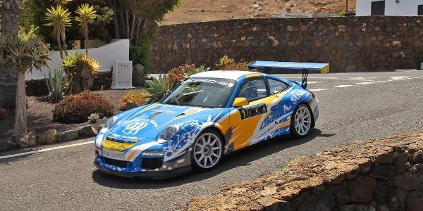 Victoria de Toñín Suárez en el Rally Sprint de Yaiza 2021