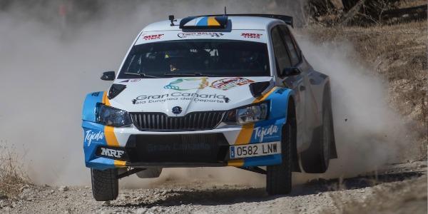 Juan Carlos Quintana gana el Rallye Ciudad de Granada 2021
