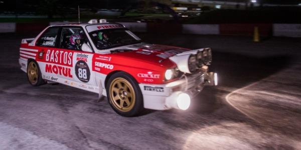 Arrancó el Rallye Festival Hoznayo, espectáculo en la noche