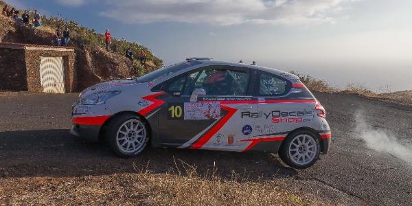 Nelson Climent y Tino Vega vuelven a la carga en el Rallye Villa de Teror