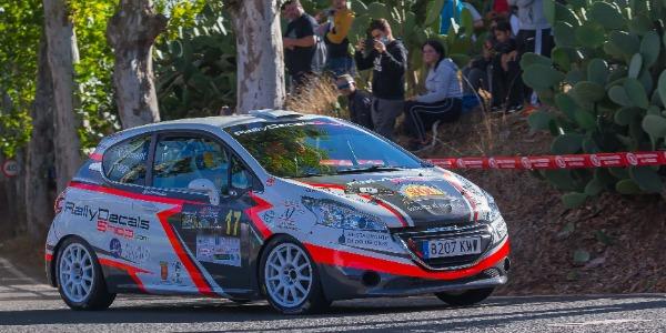 Problema eléctrico para Nelson Climent en el Rallye de Teror