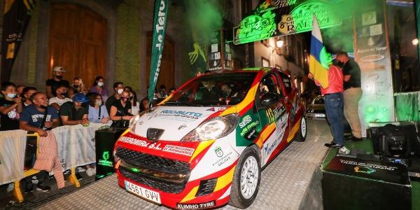 Armiche Mendoza completa el Rallye Villa de Teror 2021