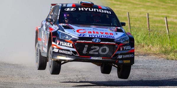 Iván Ares a por el Rally Serras de Fafe ERC 2021