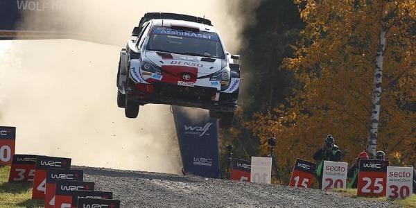 Elfyn Evans gana el Rally de Finlandia WRC 2021