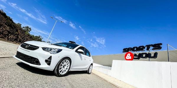 El Opel Corsa Rally4 de Sports & You Canarias debutará en Tenerife