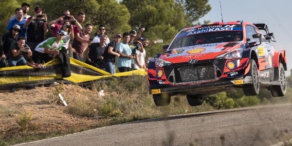 Victoria de Thierry Neuville en el RallyRACC WRC 2021