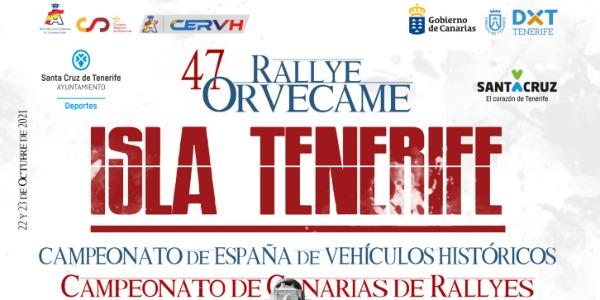 47 Rallye Orvecame Isla de Tenerife 2021