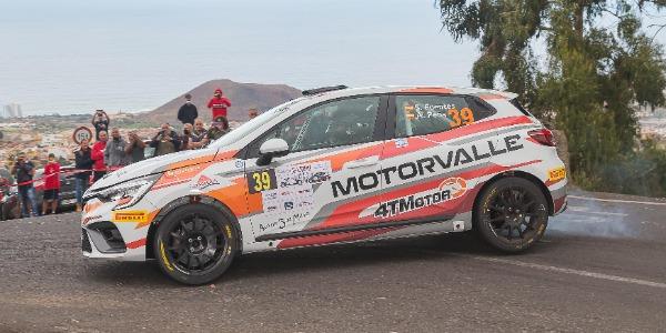 Primera victoria para el Renault Clio Rally4 de MotorValle Rallye Team