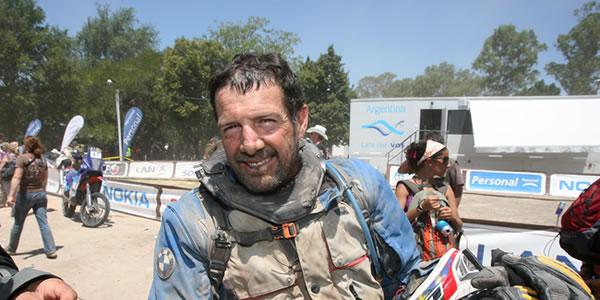 Entrevista a Jorge Gómez tras el Dakar 2011