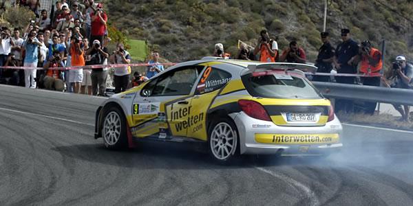 Shakedown de la edición del rally en 2010