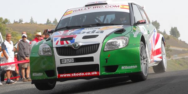 Guy Wilks en el pasado Rally Islas Canarias