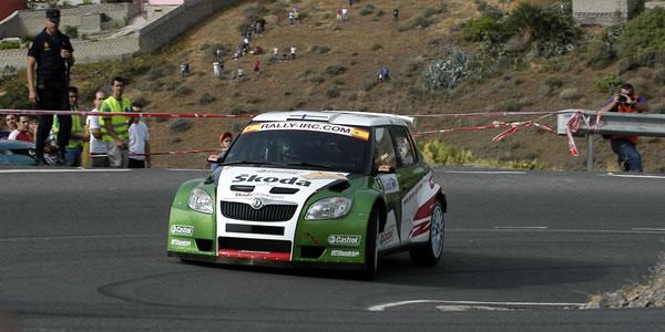 Hanninen en el Rally Islas Canarias del pasado año