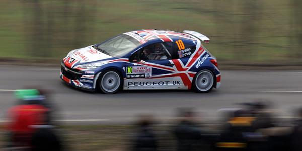 Guy Wilks en el pasado Rally de Montecarlo